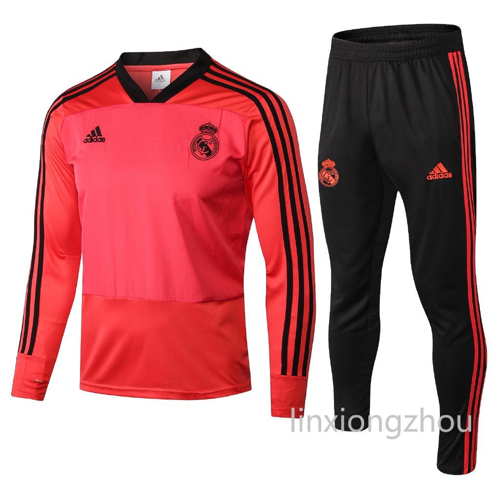 7c394f29c Kualitas terbaik Real Madrid Lengan panjang Jersey pelatihan Suit Copy  original 1 1