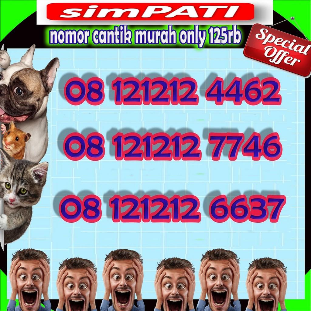 Kartu perdana nomer nomor cantik telkomsel as istimewa hoki kwartet 085 33 8888 xxx vontcell lombok | Shopee Indonesia