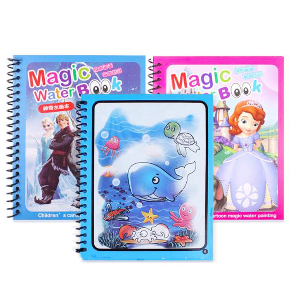 Water Drawing Magic Repeated Use Doodle Drawing Educational Toys