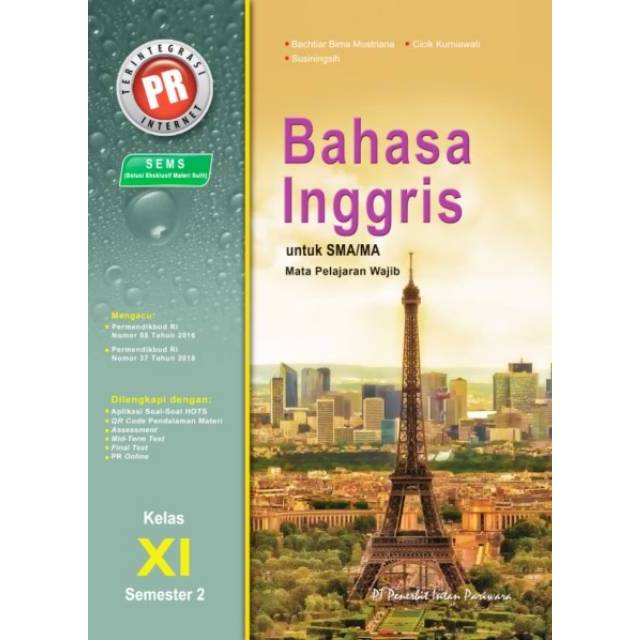 Buku Pr Lks Bahasa Inggris Kelas Xi 11 Semester 2 K13 Revisi Intan Pariwara Shopee Indonesia