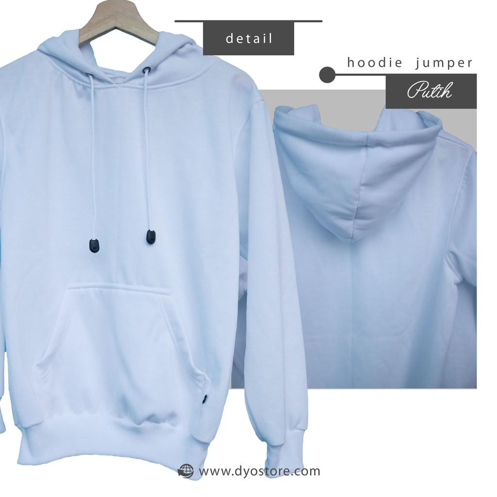 Jaket Sweater Polos Hoodie Zipper Fleece Hijau Army Shopee Indonesia Biru Dongker Navy