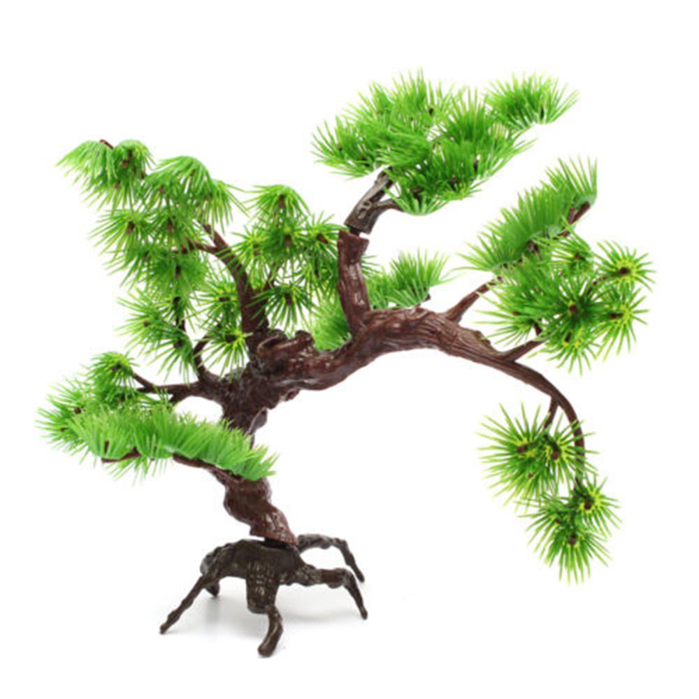 Aksesoris Akuarium Ornamen Pohon Bonsai Imitasi Bahan Plastik Afnc Shopee Indonesia