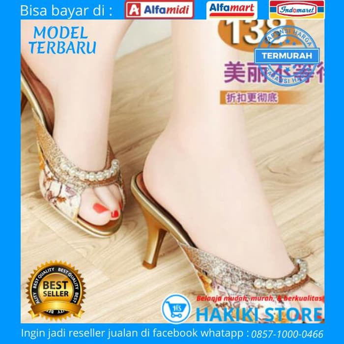P24o8 High Heels Wanita Kekinian Hakiki Sepatu Wanita Heels Cmjb12