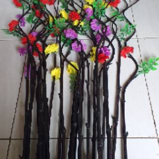 hiasan bambu ulir# bunga bambu ulir#bambu inul#pring
