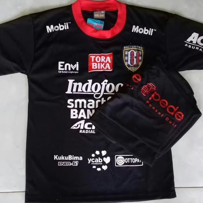 Unik# Kaos Baju Bola Jersey Setelan Anak Bali United Hitam Terbaru 2019 ,.,  | Shopee Indonesia