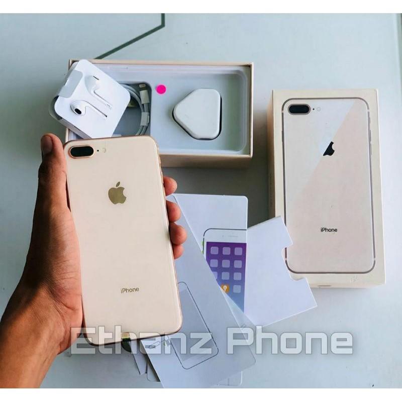 Iphone 8 Plus Ibox 256gb 64gb Original Fullset Like New Shopee Indonesia