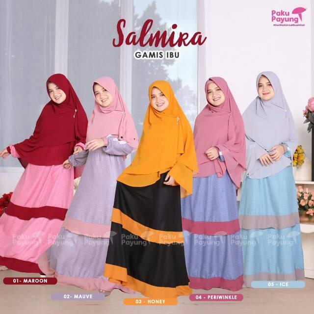 Gamis Ibu Salmira Couple Shopee Indonesia