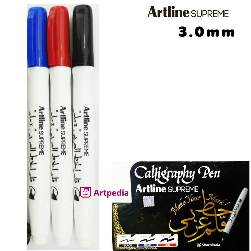 Artline Stix Brush Marker Pen Spidol Kuas Kaligrafi Warna Warni