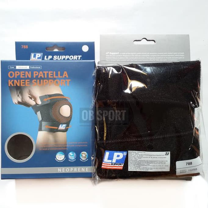 PROMO Deker lutut LP - knee support open patela - knee support 788 .