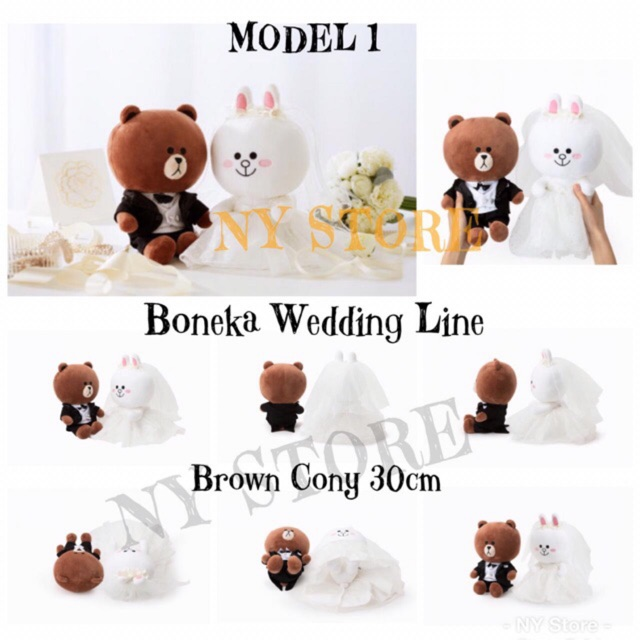 HOT SALE - BONEKA LINE BROWN 25CM BONEKA MURAH  616fe411ad
