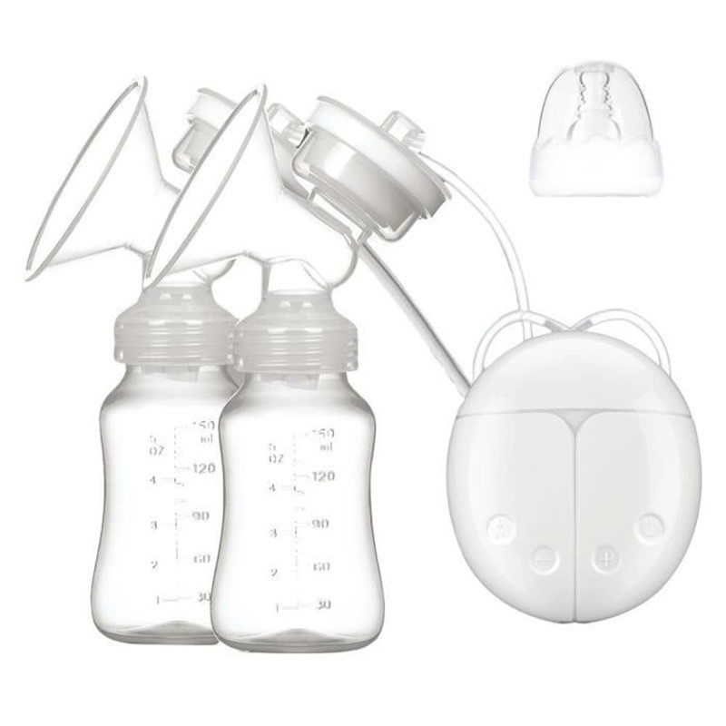 Safe Double Intelligent Electric Breast Pump Infant USB BPA Free Powerful Pumps