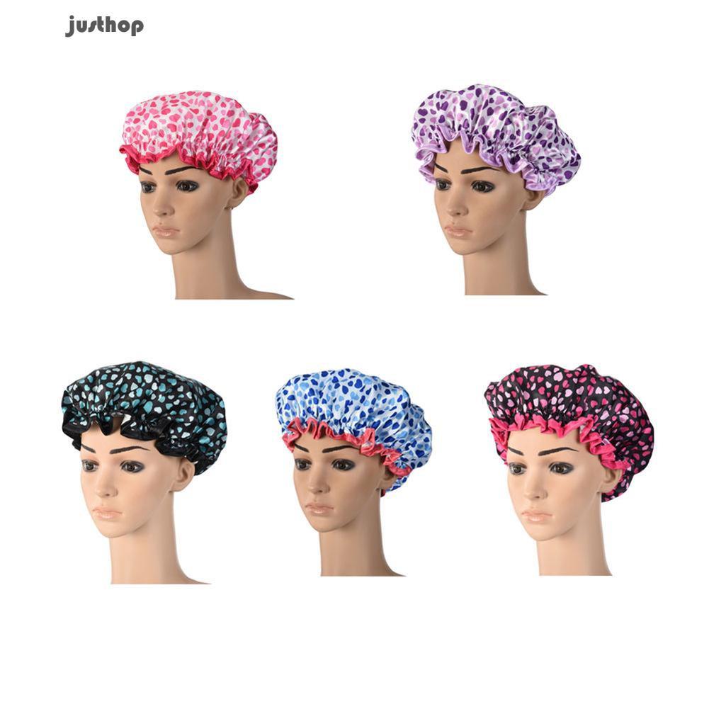 Wanita wanita cepat-kering Twist rambut pengering-handuk dibungkus Cap Hat Spa mandi renang