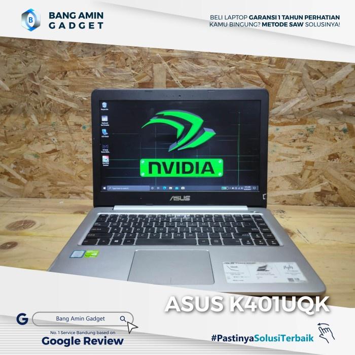Laptop Asus K401UQK Core i7/RAM8GB/SSD240GB/Dual VGA (NGEBUT)