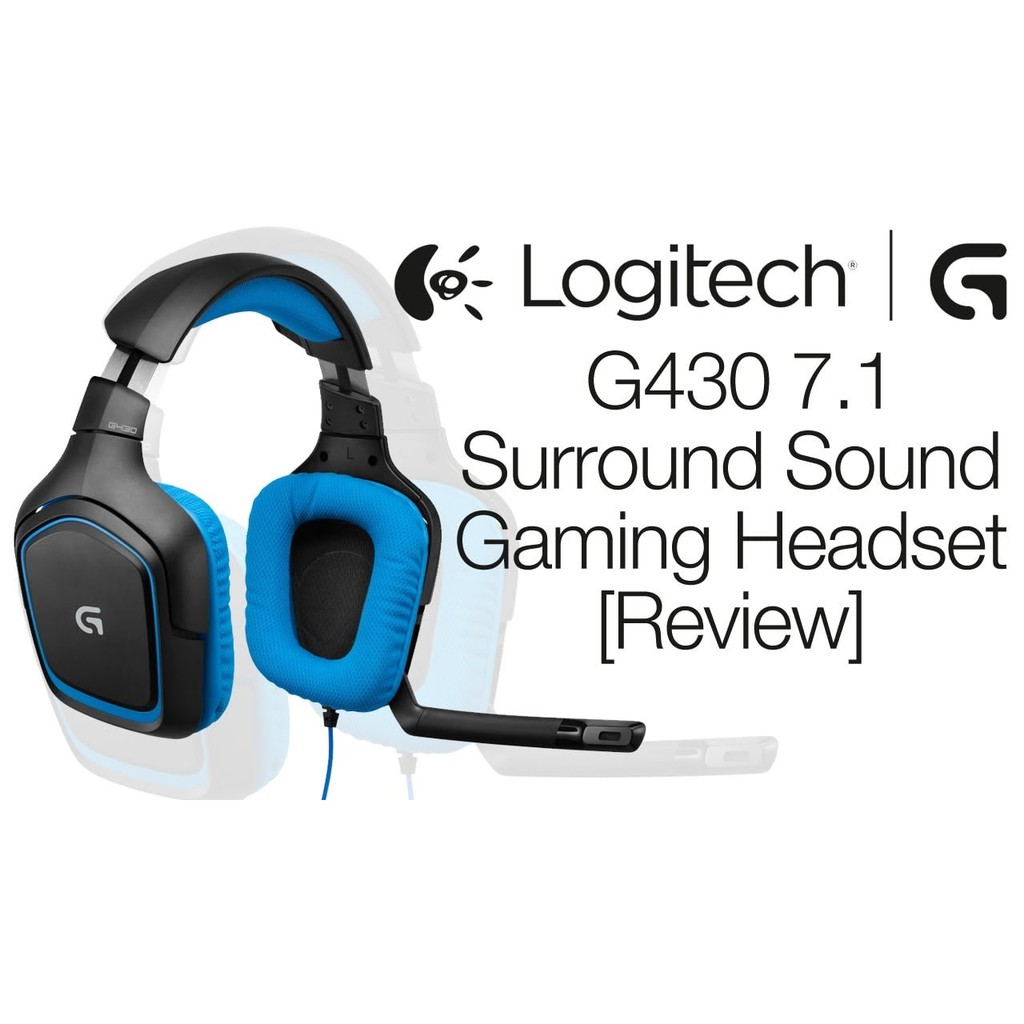 Logitech G430 Gaming Headset New The Best Shopee Indonesia Corsair Void Surround Hybrid Stereo Hitam