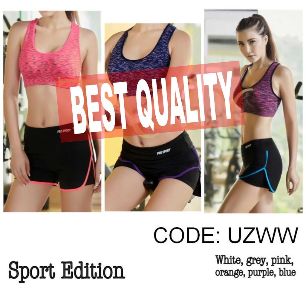 Celana Sport Ua 011 Pants 7 8 Legging Senam Yoga Gym Sorex Ua011 510 Shopee Indonesia