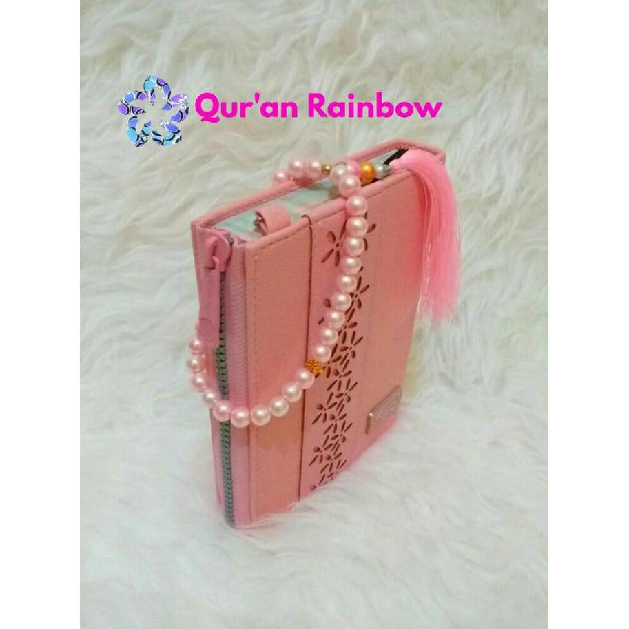 Al Quran Pelangi Dan Tasbih Cantik Yasmina Pink Shopee Indonesia
