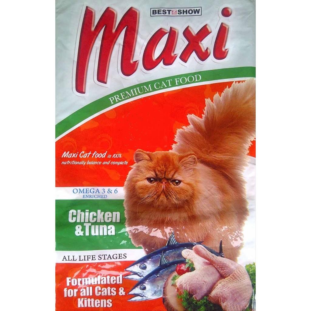 Maxi Cat Food Makanan Kucing Maxi Best In Show Repack 1kg Shopee Indonesia