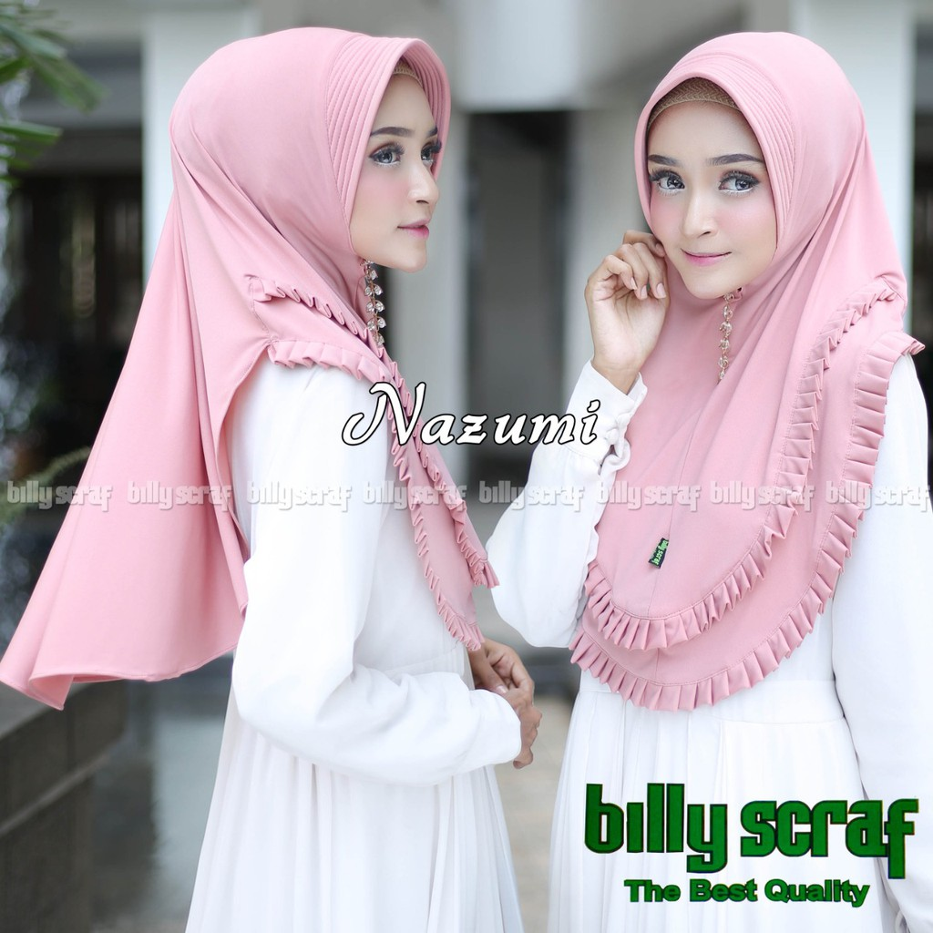 Hijab Jilbab Instan Jersey Jersey Model Bergo Terbaru Termurah Dan Terlaris Kerudung Wanita Nazumi Shopee Indonesia