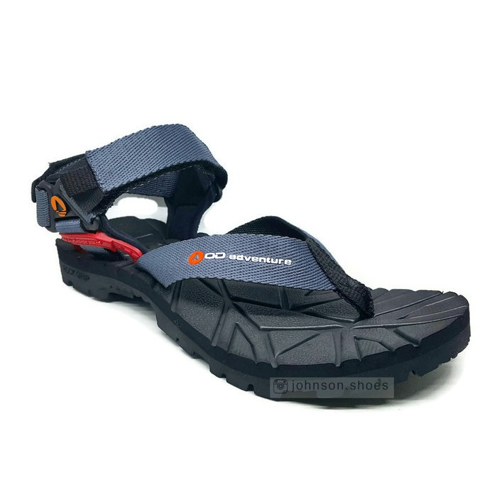 Johnson Shoes   Sendal   Sandal Gunung Jepit Pria OUTDOOR ADVENTURE - NEO  SPORTIVA Grey ORIGINAL  48f249f014