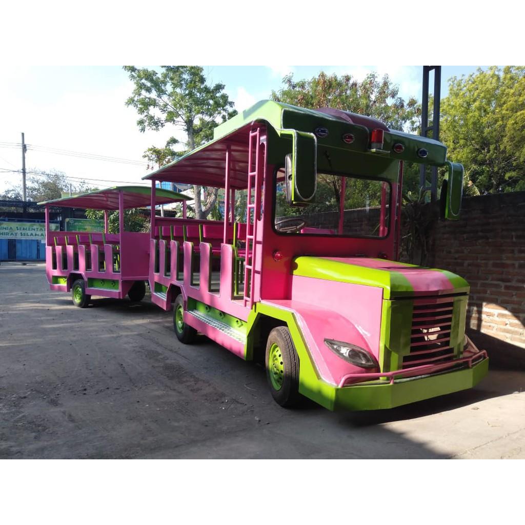 Promo Murah Promo Odong Odong Murah Kereta Mini Kereta Wisata Odong Mobil Sepur Kelinci 2 Shopee Indonesia