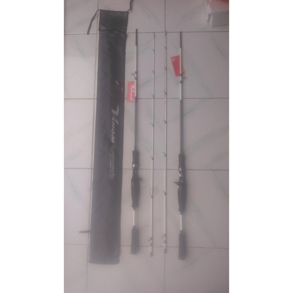 Joran Viper Endure Spinning Rod Ve802hs Shopee Indonesia Stik Alat Pancing Telescopic Versus Maximus 270