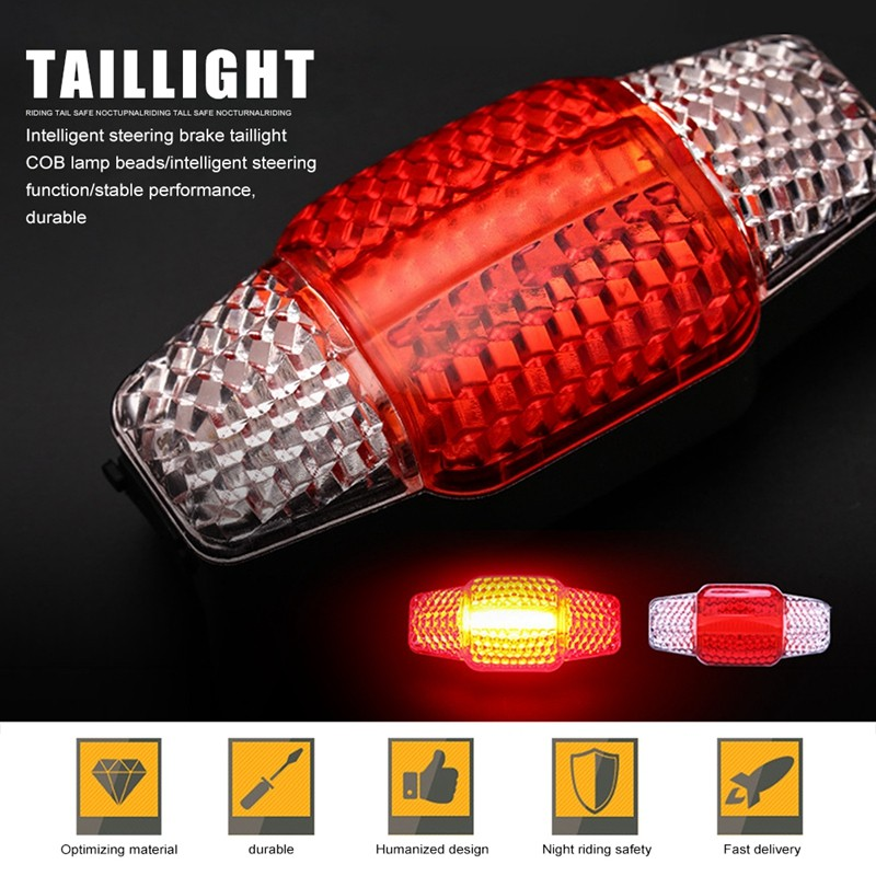 LED Safety Flashing Warning Bicycle Bike Night Light Ultra Bright Waterproof