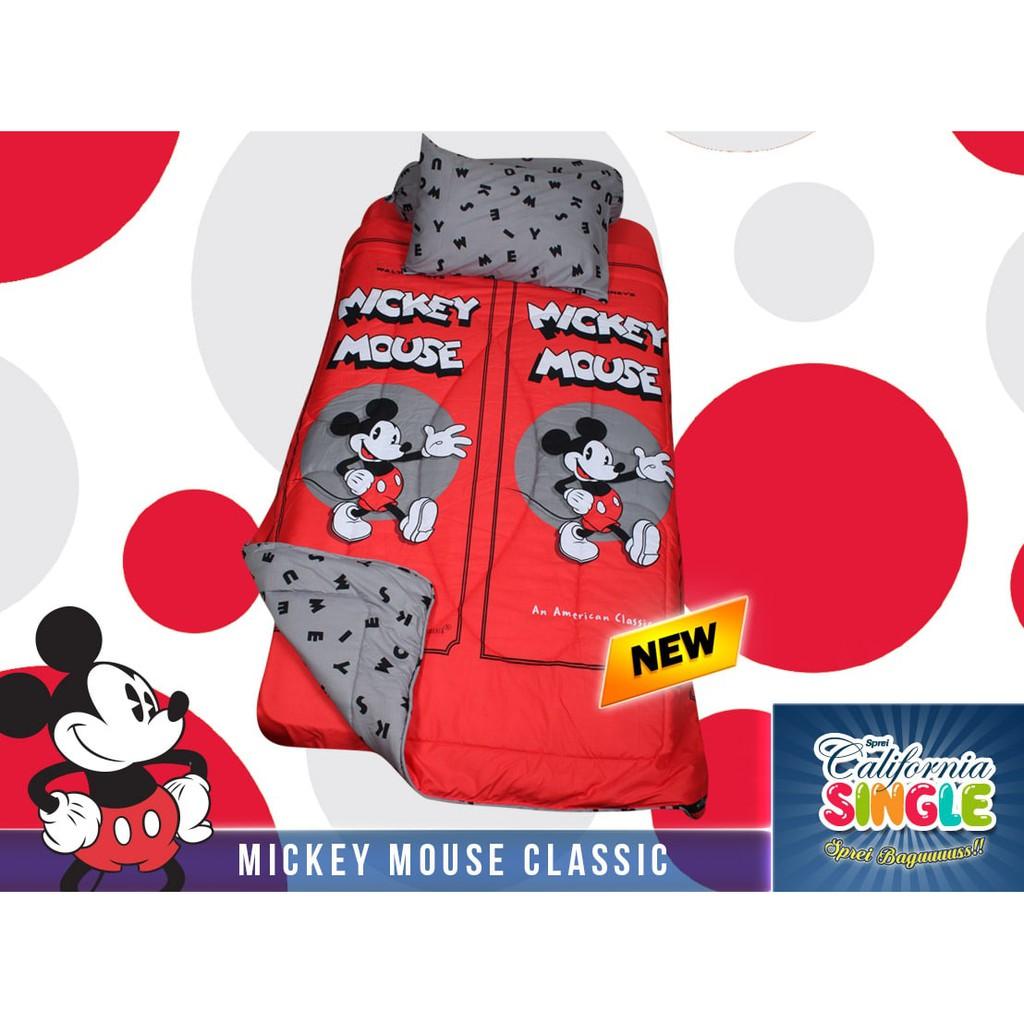 Ss Sprei California My Love 120 Mickey Minnie Couple 120x200 Katun Import  Uk Single 452 Size No3 Murah Anak Shopee Indonesia