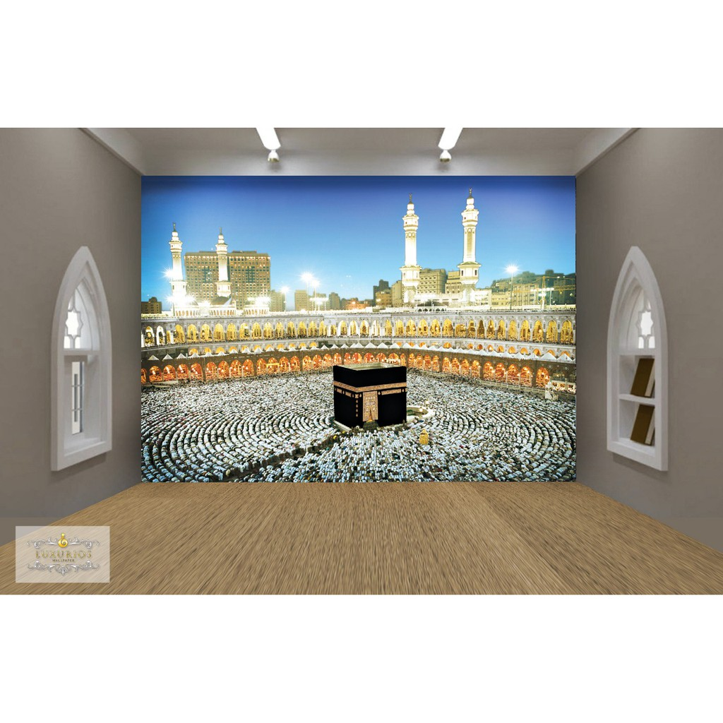 WALLPAPER CUSTOM 3D WALLPAPER DINDING KABAH