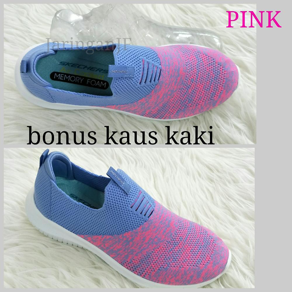 Promo sepatu wanita sepatu santai sepatu jogging sock shoes skechers sock  shoes Diskon  6f22f99f09