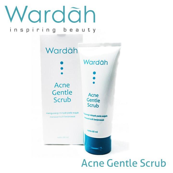 Wardah Acne Gentle Scrub (mencegah jerawat dan Komedo) | Shopee Indonesia