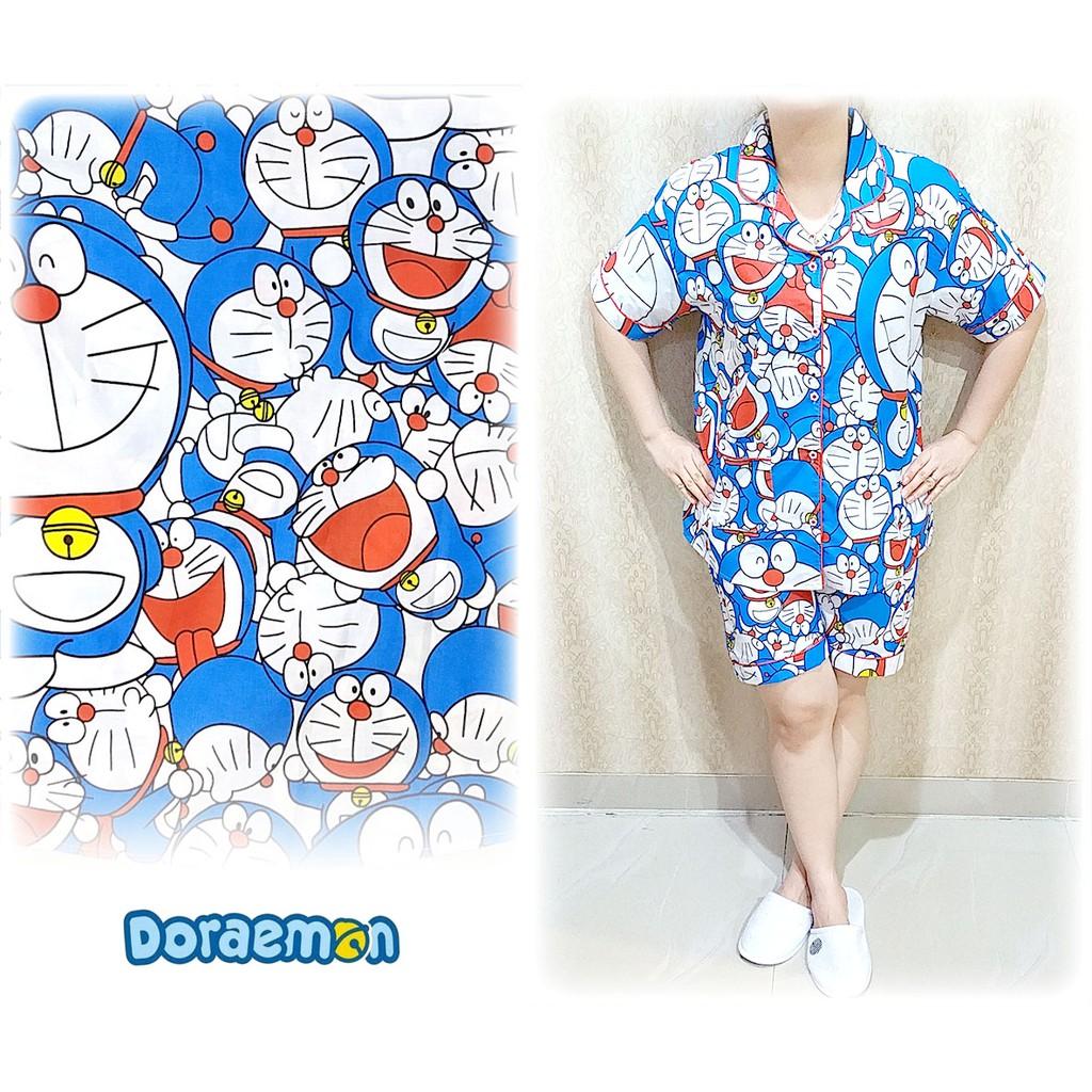 66 Gambar Baju Tidur Doraemon Pendek Paling Keren