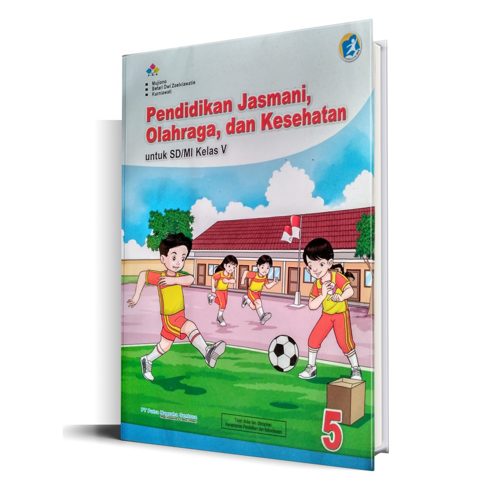 Buku Pjok Kelas 5 Putra Nugraha Kurikulum 2013 Shopee Indonesia