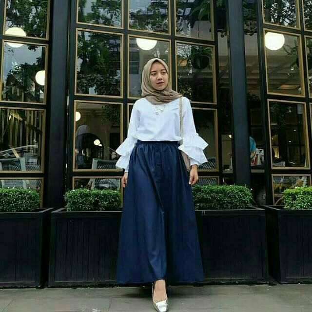 Murah Setelan Hijab Tarra Baju Remaja Pakaian Kekinian Outfit Ootd