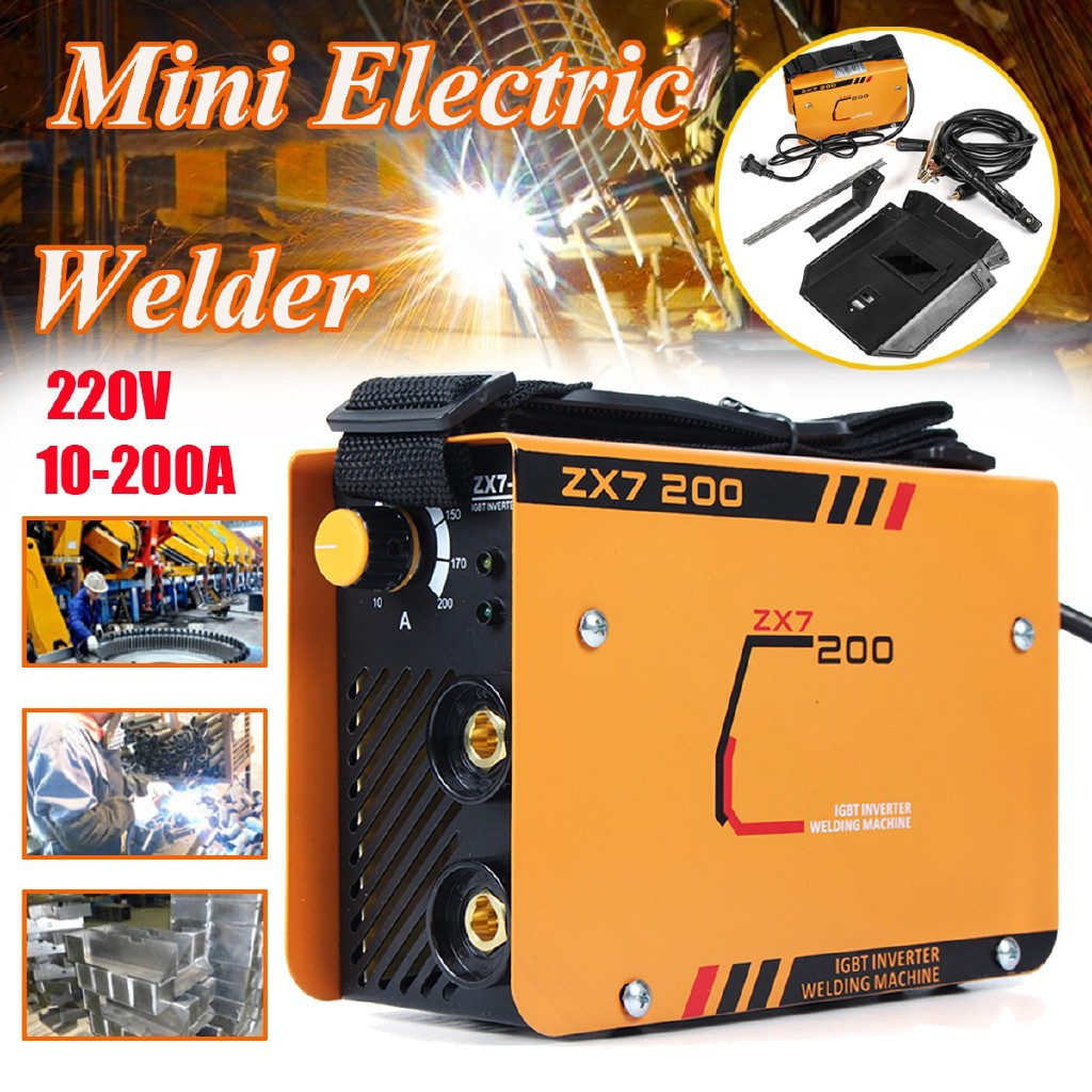 5.5KW 200A Torch Welding Inverter Machine MMA//ARC Portable Welder ZX7-200 IGBT