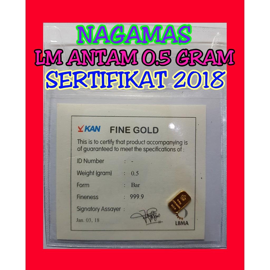 208 Emas Antam 2 Gram Logam Mulia Garansi Uang Kembali Include 10 Sertifikat Shopee Indonesia