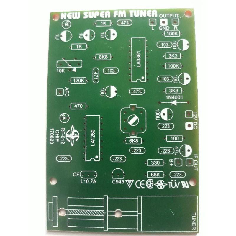 PCB Super Tuner FM Radio 012p