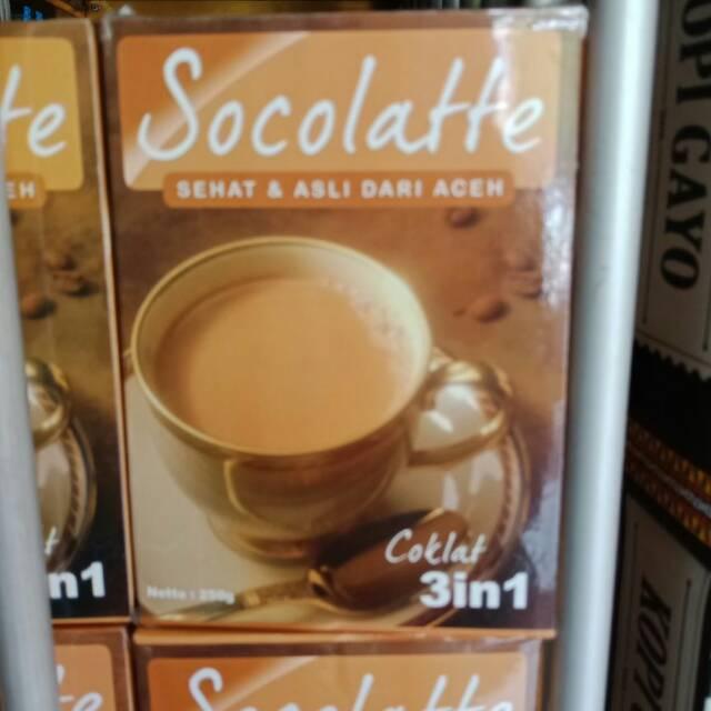 Kopi Aceh Socolatte Coklat 3 In 1 Sehat Asli Dari Aceh Shopee Indonesia