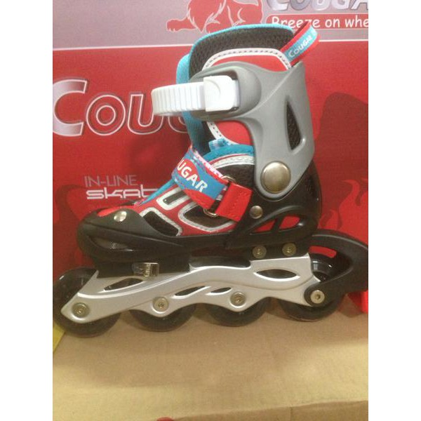 Cougar Inline Skate Sepatu Roda Mzs68fb Bk Rd Size 34 37 - Daftar ... e8ebbbc756