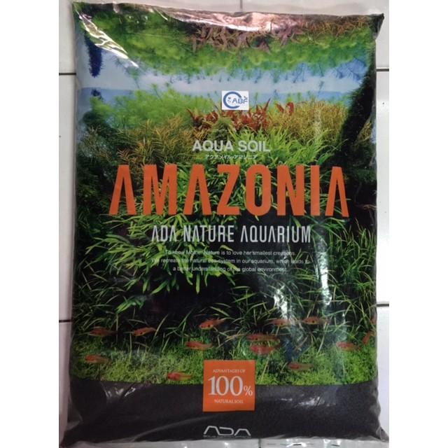 Aqua Design Amano Ada Soil Amazonia 1kg Eceran Untuk Aquascape Shopee Indonesia