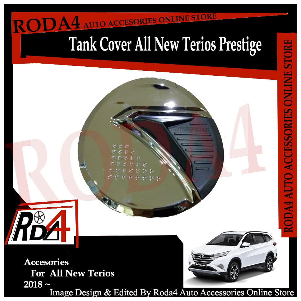 Tank Cover Terios - Tutup Bensin New Terios Model Crosstivo | Shopee Indonesia