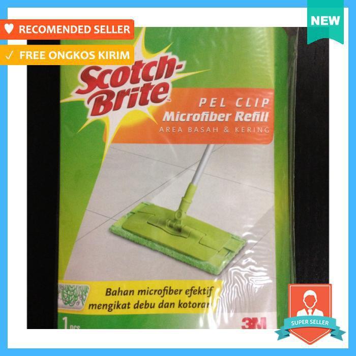 3M Scotch Brite Pel Microfiber Teleskopik Refill , ID-751 | Shopee Indonesia
