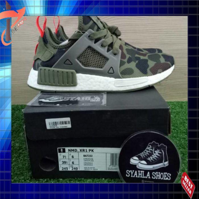 880ef4124 Terlaris Adidas Nmd Xr1 Duck Camo Pink 100% Ua Original Boost Basf Bnib  Ready Stock