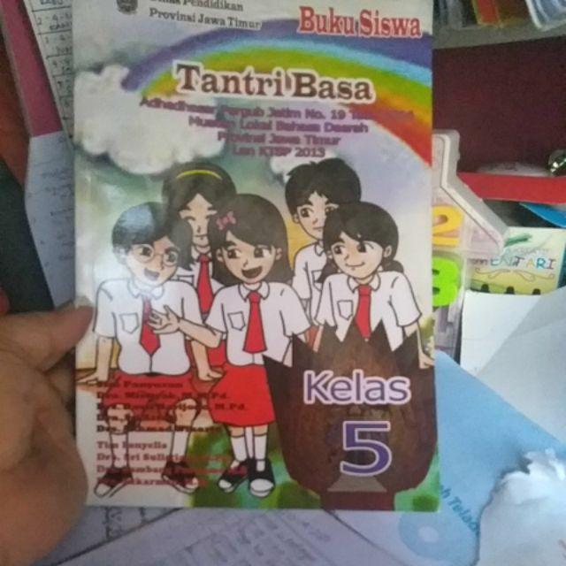 Buku Siswa Tantri Basa Kelas 1 2 3 4 5 6 Sd Mi Buku Bahasa Jawa Shopee Indonesia