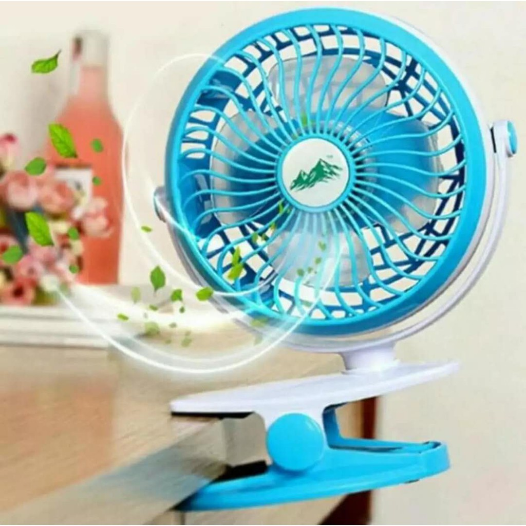 Kipas Angin Usb Besi Shopee Indonesia Mini Fan Portable Kokoh
