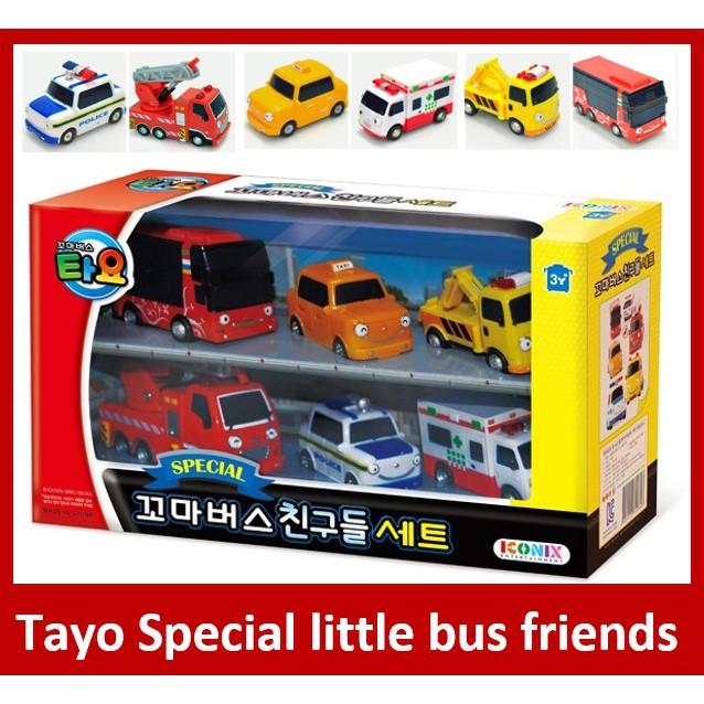 6pcs Set Kartu Permainan Tayo Special Little Teman Untuk Anak Anak Shopee Indonesia