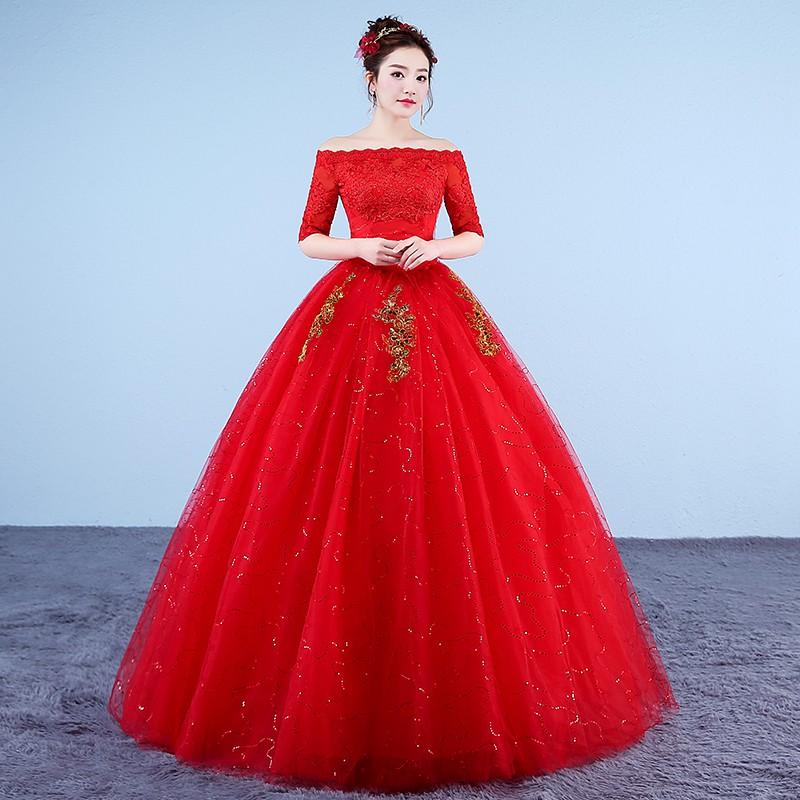 1612009 Lengan Panjang Mirabella Gaun Pengantin Baju Pengantin Wedding Gown Wedding Dress | Shopee Indonesia