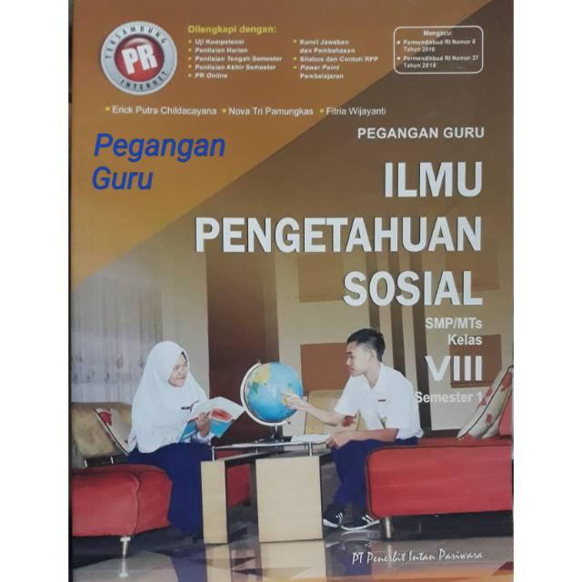 Buku Pegangan Guru Soal Kunci Pr Lks Ips Kelas Viii 8 Semester 1 K13 Revisi Shopee Indonesia