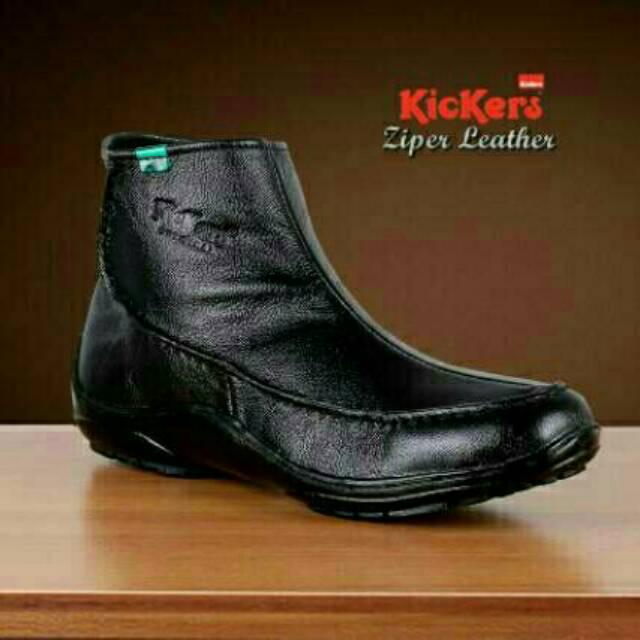 Sepatu kulit boots pria Bradley s Cordovan - sepatu pria sekelas brodo  b3cef470be