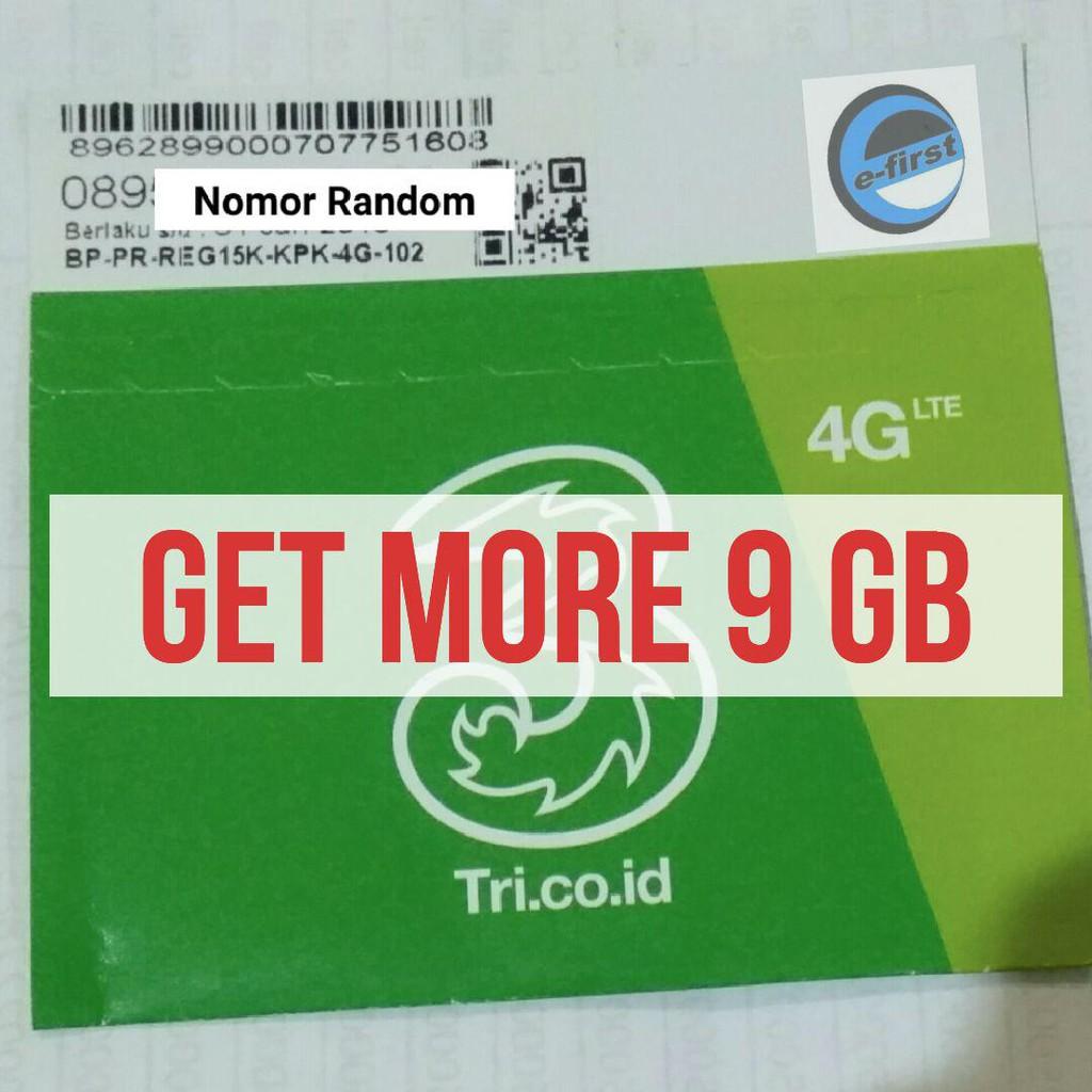 Kartu Perdana Internet 3 Three Tri Getmore 6gb Gm2 Gb Kuota Data 2gb 4 Bukan Aon Shopee Indonesia