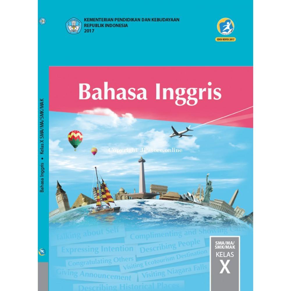 Buku Bahasa Inggris Kelas 10 - Dunia Sekolah ID